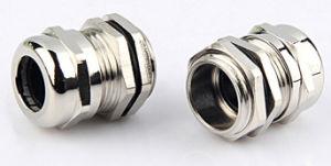 Pg16 никелированный латунный металлических кабельных сальников поставщика