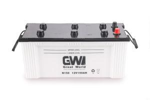 GW Brand N150 Batería Recargable de Carga Seca para Camión