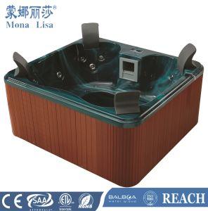 Aprovado pela CE hidromassagem jacuzzi banheira de hidromassagem exterior (M-3318)