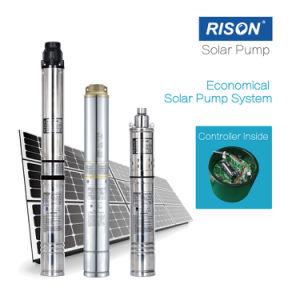 Pompa solare sommergibile di CC di buona qualità con il prezzo basso (regolatore all'interno del motore)