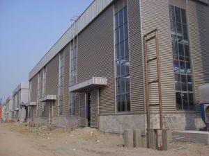 Estructura de acero de luz Taller de comercial de acero de construcción con el dosel (KXD-SSB1211)