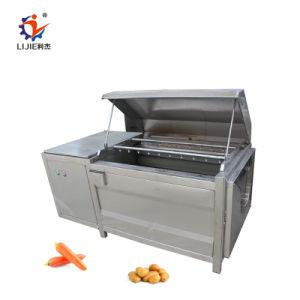 La carotte et le taro de laver et peler la machine pour la manipulation des aliments