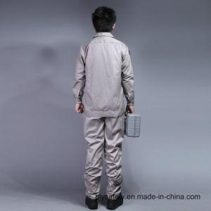 65% polyester 35%coton à manches longues Vêtements de travail de la sécurité de haute qualité à bas prix costume (Bly2002)