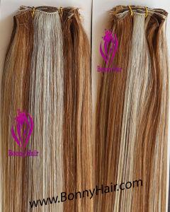 Vierge Brzailian Human Remy Hair main liée Tissage de cheveux hair extension