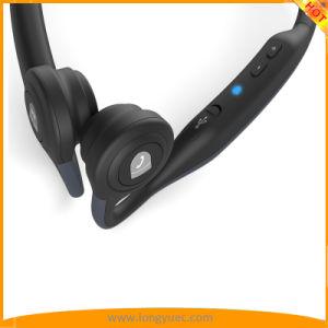 耳のスポーツのための無線骨導のヘッドホーンSweatproofを開きなさい(インク青い)