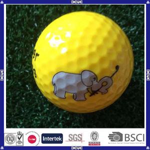 Bom Preço 2 Layer prática bola de golfe