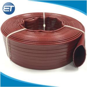 Fornitore resistente della fabbrica del tubo flessibile di irrigazione posto PVC dell'acqua piana di agricoltura