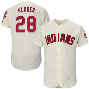 Hombres Mujeres jóvenes indios 28 Corey Kluber camisetas camisetas de béisbol
