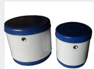 Non-Pressurized Integrado Compacto Tubo de vacío de acero inoxidable Calefacción Agua Caliente Solar caloducto Sistema de energía de alta/baja presión calentador de agua solar