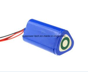 Li 이온 건전지는 전기 토치를 위한 3.7V 7200mAh 18650를 포장한다