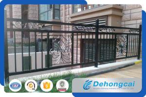 装飾的な金属のバルコニーの塀/錬鉄の電流を通された鋼鉄にバルコニーの囲うこと