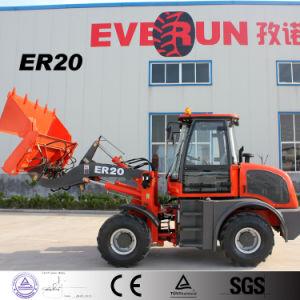 Everun 2トンの小型車輪のローダーの価格