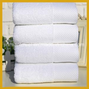 Wholesale White Hotel Bath Towel with 100% Cotton