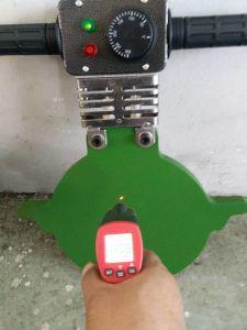 Termofusionのバット融接機械