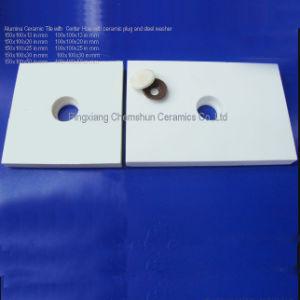 L'alumine en céramique des plaques d'usure pour les garnitures d'usure en acier