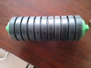 133mm Diâ Cema voltar a polia intermediária/Transportador de rolos de impacto com Disco de Borracha