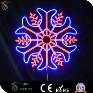 Het Decoratieve LEIDENE van Kerstmis van de fee Licht van de Sneeuwvlok