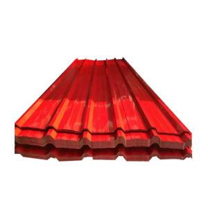Zink van de kleur bedekte het GolfBlad van het Dakwerk van het Staal voor de Tegel van het Dak met een laag