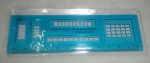 Righello della plastica del righello del banco del righello dell'allievo del righello di disegno