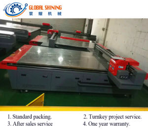 Глобальные яркий настенной панели цифровой струйной печати 5D УФ печатной машины