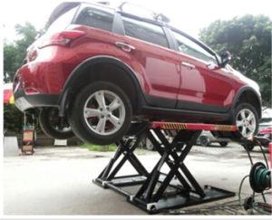Подъем автомобиля столба 2, подъем автомобиля, поднимаясь платформа