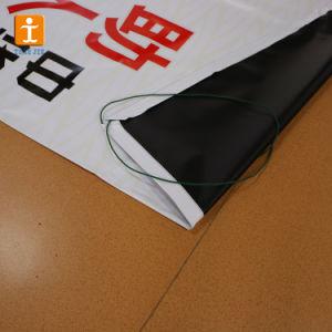 卸し売り印刷の最もよい広告のバックライトを当てられた屈曲の旗