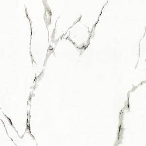 Witte Kleur 600mm X 600mm Volledige Opgepoetste Verglaasde het Vloeren Tegel