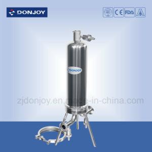 De sanitaire Vastgeklemde micro-Filter Filter van het Roestvrij staal