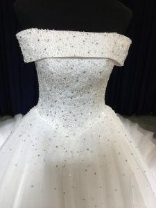 Aoliweiya última perla diseñador vestido de novia