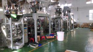 Sistema da máquina de embalagem de amendoim torrado