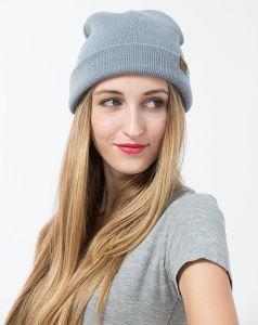 hats Knitted 형식 숙녀 100% 아크릴 베레모