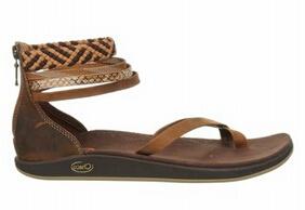 Trendy polyester jacquard sandales occasionnels de sangle