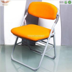 卸し売り黄色いシートのオフィスの折りたたみ椅子の公共の椅子(HY-148)