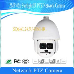 De Camera van het Netwerk van IRL PTZ van het Sterrelicht van Dahua 2MP 45X (sd6al245u-hni-IRL)