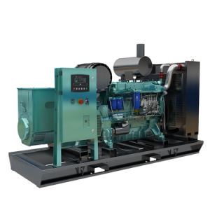 200kw 250kVA 침묵하는 디젤 엔진 발전기 Machnical 우수한 Weichai에 의하여 강화되는 조절