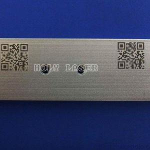 De Laser die van de vezel Machine voor De Code van Qr van de Streepjescode merken