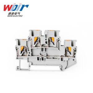 El conector Auto parte de Hardware de inserción en el bloque de terminales Cable de 2,5 mm personalizada Terminal de doble capa