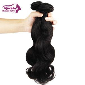 Morein 10uma onda de Corpo Remy Virgem de extensão de cabelo de tafetá brasileira de cabelo humano