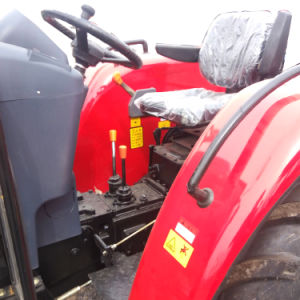China 50 HP 45HP 40HP 35HP 30HP 4WD tractor agrícola com a pá carregadeira e retroescavadeira da Extremidade Dianteira