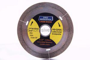 Lazered Turbo tipo seco de la hoja de diamante de corte de azulejos