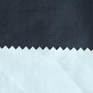 Ripstop нейлоновой ткани с PU покрытием для куртку/Pizex