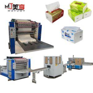 Corte de dobragem automática Gofragem Máquina de Papel Tissue