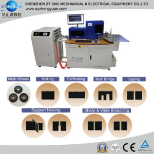 (ZY-320D)Die Board tornando-Corte & Fold-Bend Máquina/régua de aço Auto Bender Machine