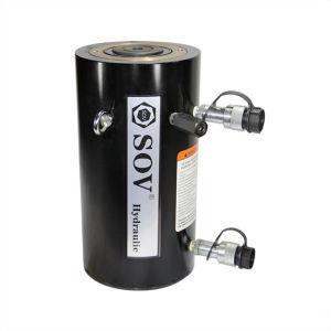 Venda quente oco de Dupla Ação o êmbolo do cilindro do pistão de elevação hidráulico macaco com preço de fábrica