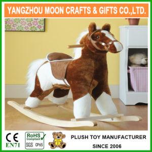 Paseo en el estilo de juguete de peluche Caballito Caballito de equitación para niños