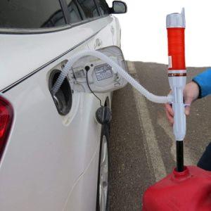 연료 가스 기름 가솔린 물을%s 건전지에 의하여 운영한 액체 이동 펌프 싸이펀 펌프는, 손 연료 펌프 Esg12979를 다중 사용한다