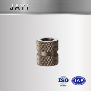 (JY028) inserto de acero inoxidable, mecanizado tuerca tuerca tuerca Enchase plástico