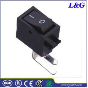 힘 6A T125/55 소형 단추 토글 마이크로 로커 스위치 (SS01)