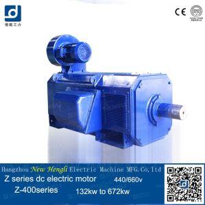 La serie Z 550V 475kw 1500 rpm motor DC cepillado eléctrico