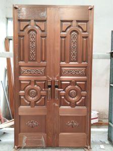 Foshan Fabricante de porta a porta de cobre artesanais de qualidade superior para a entrada da casa